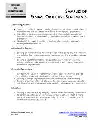 Customer Service Resume Objectives Badak Objective For Example Job