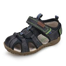 new 2019 leather sandals boys and girls summer beach shoes little children baotou sport sandals for kids size 25 36 toddlers slippers boys kid boots on