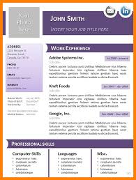 Openoffice Resume Template Delectable Open Office Resume Template Free Download Open Office Resume