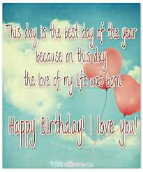 Love Birthday Quotes Custom A Romantic Birthday Wishes Collection To Inspire The Perfect