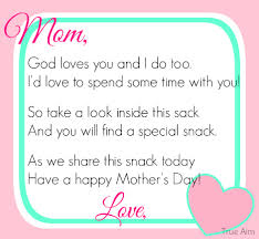 Small Picture Free Mothers Day Snack Tag Printable Snacks Snack bags and