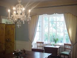 dining room crystal lighting. Excellent Dining Room Window Treatment Ideas Adding Beauty Aspect : Bright Crystal Chandelier In Classic Lighting