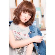Minx2015年人気髪型 小顔ミディアムレイヤー Minx 原宿店ミンクス