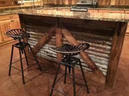 rustic bar stools. Rustic Bar Table DIY Stools B