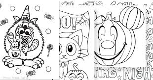 Halloween coloring pages are also a great loot bag filler for a child's halloween party. The Best Free Printable Halloween Coloring Pages For Kids