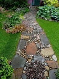 Small Picture Garden Path Ideas Garden Landscape Design Eye Catching Garden Path