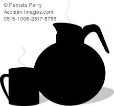 coffee pot silhouette. Unique Coffee To Coffee Pot Silhouette