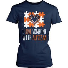 Autism Shirt Designs Autism T Shirt Design I Love Someone With Autism In 2019