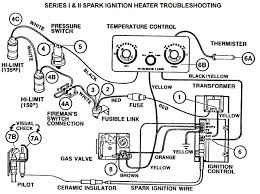 spark ignition pool heater troubleshooting guide what we have here is a schematic diagram of the safety circuit in an electronic gas pool heater the transformer 1 steps down the incoming power to 24
