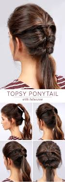 Quick Cute Ponytail Hairstyles Cute Easy Simple Ponytail For Short Hair 15 Cute And Easy Ponytail