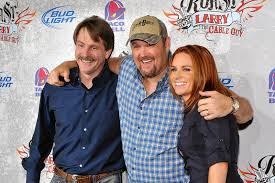 larry the cable guy wife. Contemporary Guy Jeff Foxworthy Larry The Cable Guy And His Wife Cara Whitney Having A  Friendly Get Intended The Wife