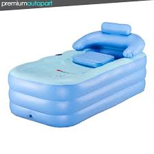 blow up pvc folding portable foldable bathtub inflatable bath tub air pump