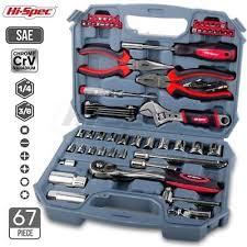 earth bar set consumer unit fuse box board spares uk p p mechanics tool set car garage diy repair kit 67 pcs sockets wrench storage box