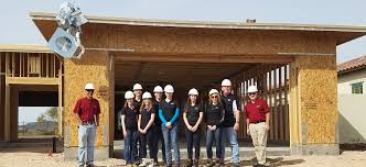 toll brothers hosts students for national job shadow day nahb students from shadow ridge high school in surprise ariz tour a home construction site
