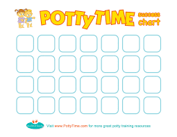 Free Friday Potty Time Success Chart Potty Training
