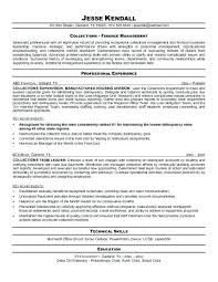 Collections Manager Resume Collections Resume Jobs Pinterest