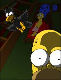 The Simpsons Treehouse Of Horror The Raven  Simpson Toys Simpsons Treehouse Of Horror Raven