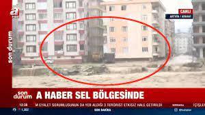 Son dakika: Rize ve Artvin'i sel vurdu! Bakan Soylu bölgede son durumu  açıkladı - Son Dakika Haberler
