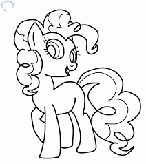 Small Picture My Little Pony Pinkie Pie Coloring Pages Coloring Home