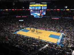 Chesapeake Energy Arena Section 307 Oklahoma City Thunder