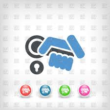 hand on door handle icon vector image vector artwork of icons and emblems myvector to zoom
