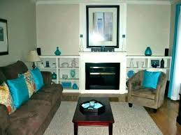 Brown And Turquoise Living Room Impressive Gray And Turquoise Living Room Teal Living Room Ideas Brown And