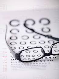 Telephony Alphabet Chart Close Up Of Alphabet C On Eye Exam Chart Seen Through D9_17_416