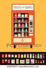 Vending Machine Graphics Adorable Clipart Of Vending Machine With Food K48 Search Clip Art