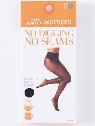 Blissful Benefits By Warners No Digging No Seams Sheer Pantyhose 1 Pair Walmart Com