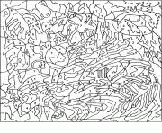 Color By Number For Adults Coloring Pages Color Online Free Printable