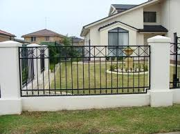 Fence Design Ideas Wooden Home Fence Design Inspiration Iron Fence