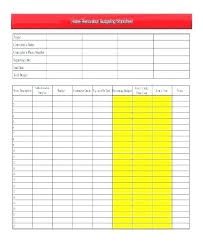 Excel Budget Worksheets Home Improvement Renovation Worksheet ...
