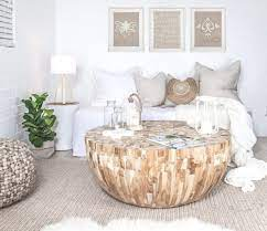 wood round coffee tables you ll love