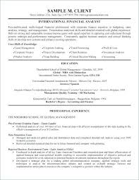 Beta Gamma Sigma Resume Custom Financial Analyst Profile Summary Resume Letsdeliverco