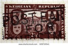 Stamp Vending Machines Dublin Amazing DUBLIN IRELAND CIRCA 48 Stamp Ireland Stock Photo Royalty Free