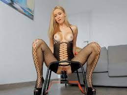 Webcam Riding Dildo Chair