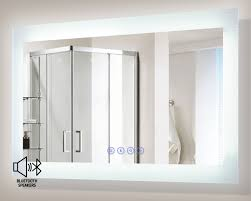 Encore BLU LED Illuminated Bathroom Mirror with Built In Bluetooth