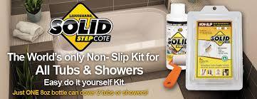 anti slip bathtub and shower coating