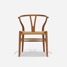 hans j wegner furniture. 407: Hans J. Wegner / Wishbone Chair, Model CH24 (1 Of 3) J Furniture A