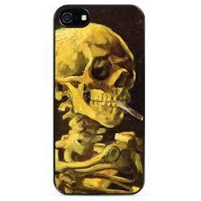Чехол для iPhone Скелет с сигаретой купить на Printdirect.ru ...