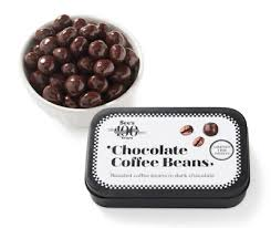 Chocolate covered espresso bean caffeine content ranges from 10 mg to 14 mg of caffeine per bean. See S Candies Debuts New Chocolate Coffee Beans Brand Eating