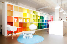 creative office designs. A Colourful And Bright Office Creative Designs