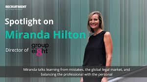 In the spotlight: an interview with Miranda Hilton » Recruitment ...