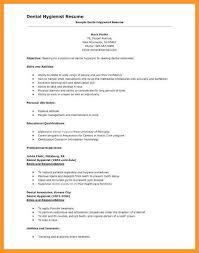 Sample Dental Hygiene Resume 9 10 Registered Dental Hygienist Resume Sample