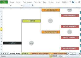 Generation Family Tree Template Excel Free Luxury 10