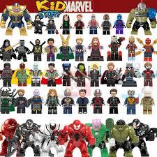 For legoing Marveled <b>Super Heroes Thanos</b> Spider Man <b>Iron</b> Man ...