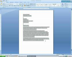 Microsoft Word Business Letter Template Microsoft Word 2007 Business