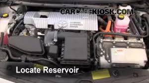 interior fuse box location 2010 2015 toyota prius 2010 toyota check windshield washer fluid toyota prius 2010 2015