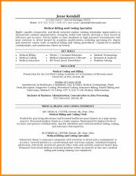Freeical Billing And Coding Resume Samples Specialist Sample Clerk ...