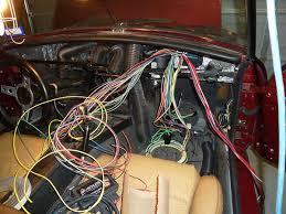 mgb wiring harness installation car audio systems mgb in the garage new wiring harness vinyl top alternator etc